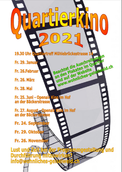 Überblick Kinodaten 2021