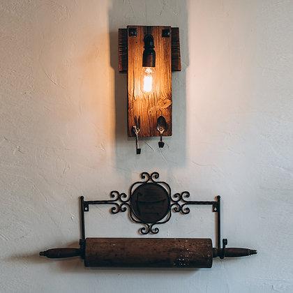 מנורת קיר וינטג' בסגנון כפרי