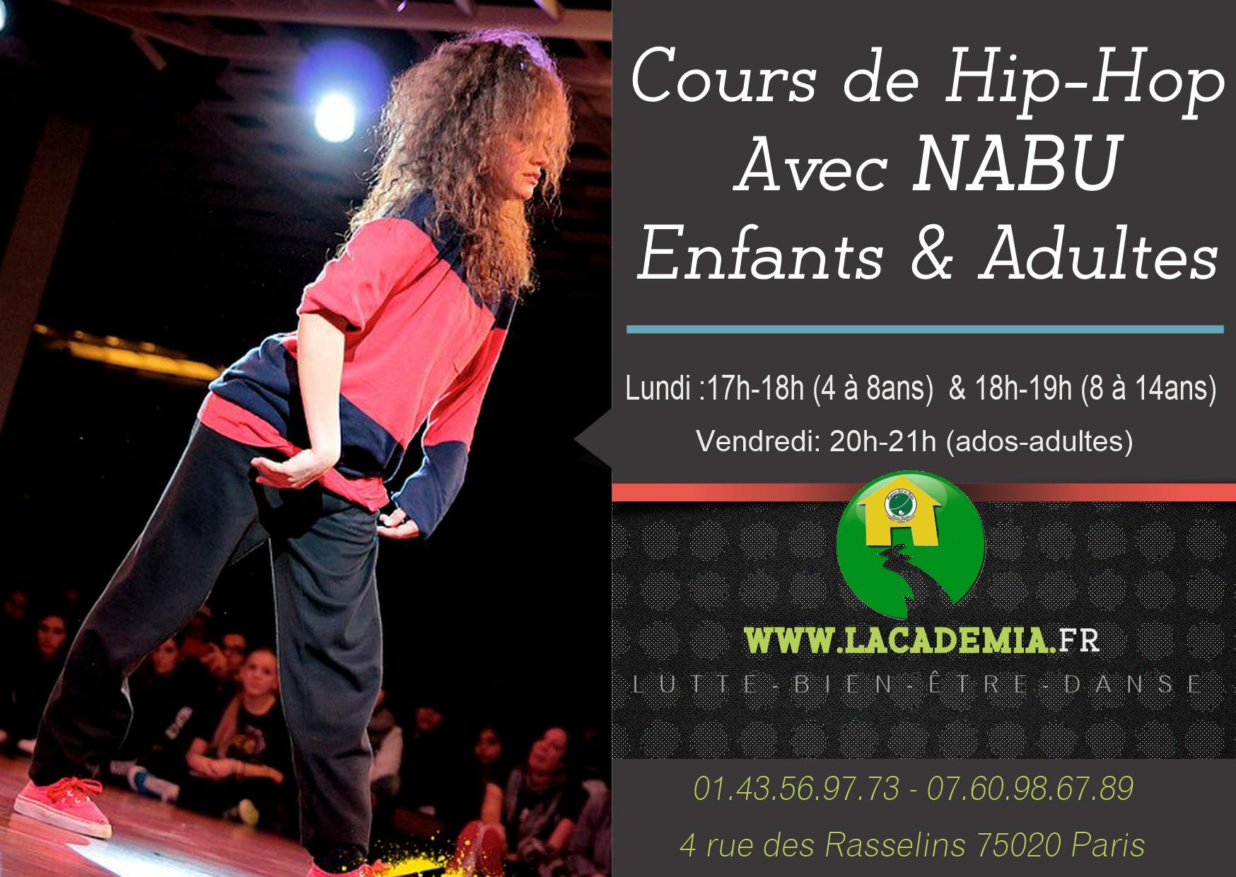 Cours Hip Hop