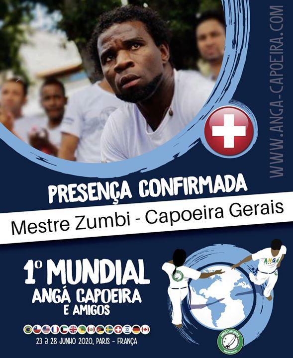 Mestre Zumbi - Capoeira Gerais