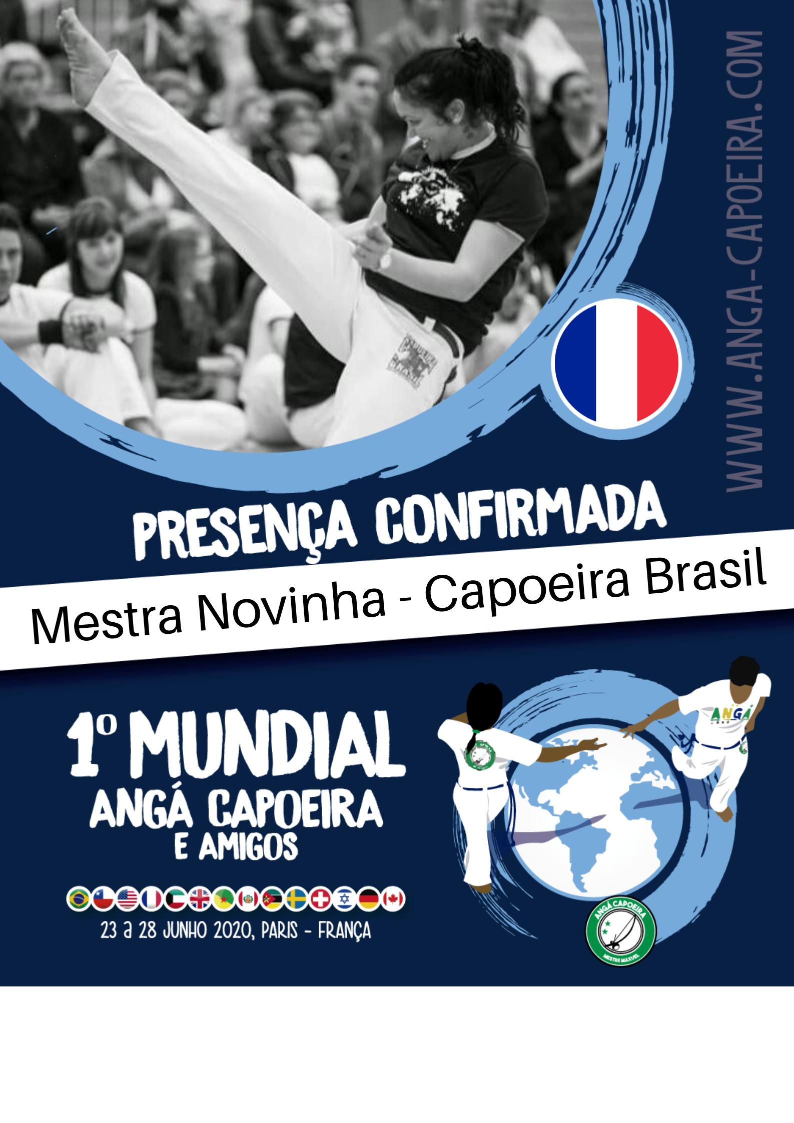 Mestra Novinha - Capoeira Brasil
