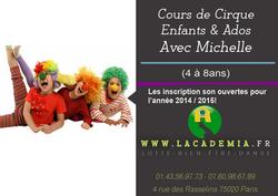 cirque enfants paris