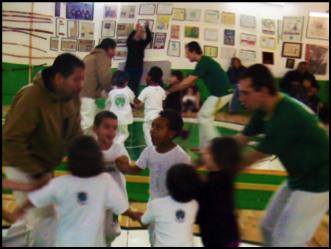 Aula de Capoeira Anga Capoeira