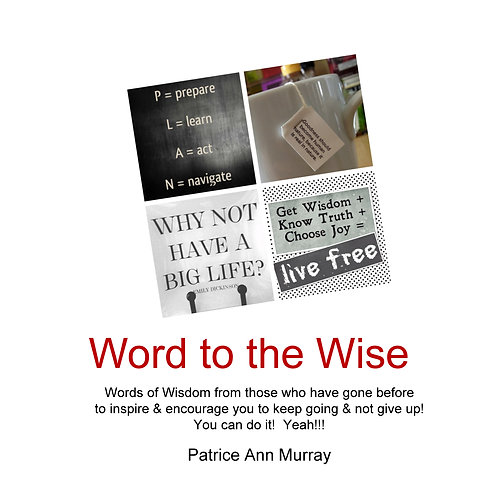 book - word to the wise