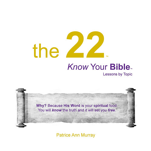 book - the 22 - Know Your Bible