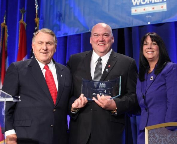 President Hoffa Awards John T. Coli