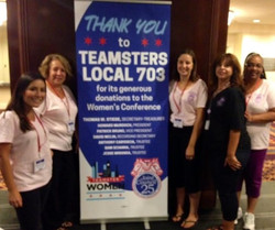 Local 703 Donates to Conference