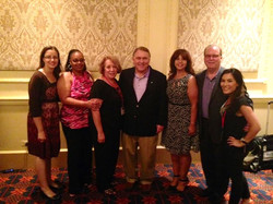 Local 703 Staff with President Hoffa
