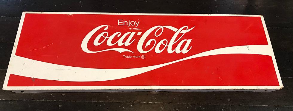 Vintage  Metal Coke Signage