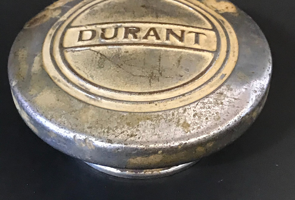 Vintage 1920's Durant Grease Cap