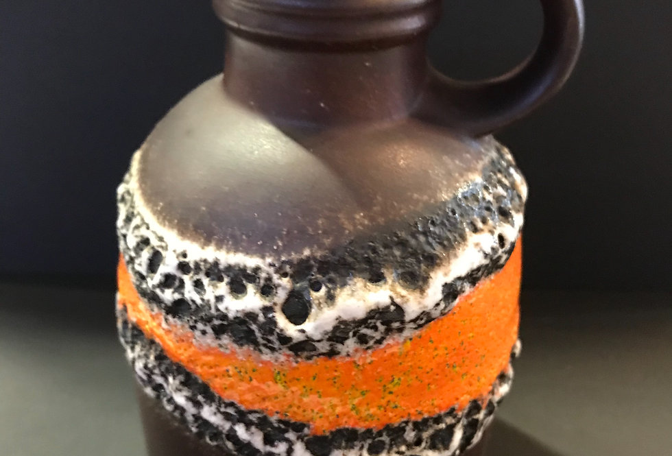 West German Lava Vase