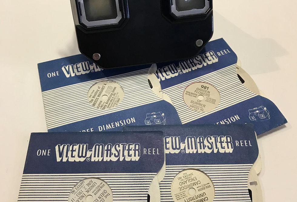 Vintage Viewmaster and Reels