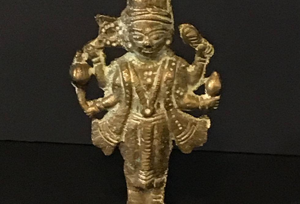 Vintage Brass Statue