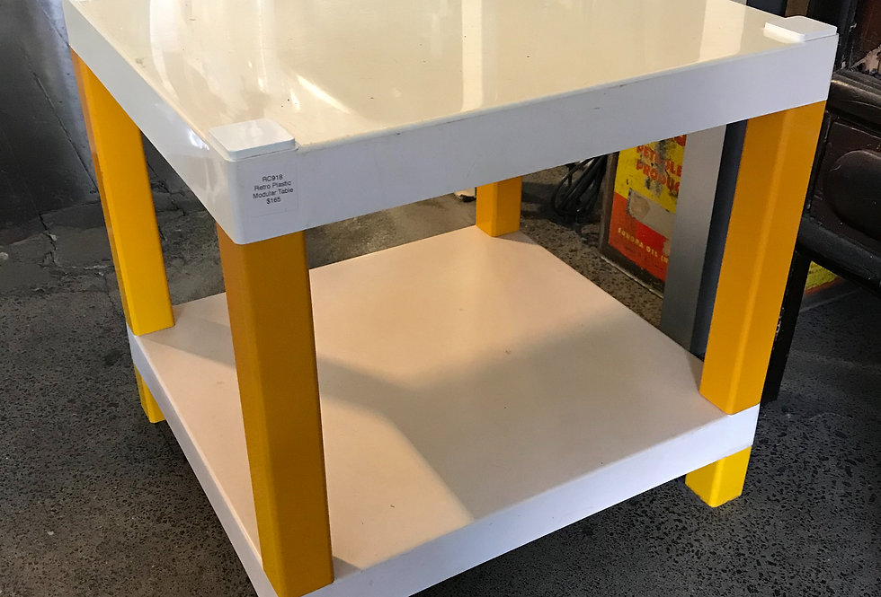 Retro Plastic Modular Table