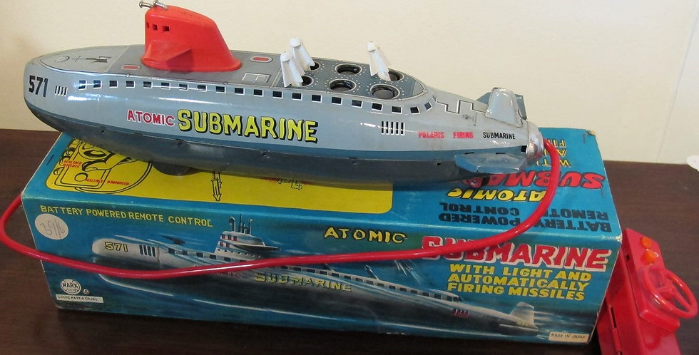 Vintage Marx Atomic Submarine Japan