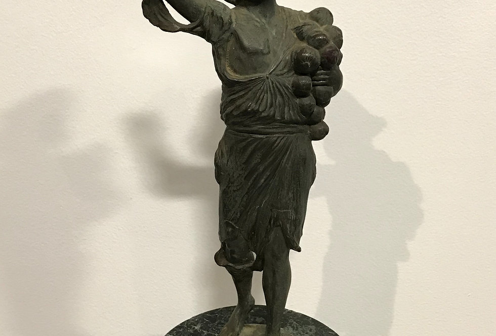 Antique Bronze Boy