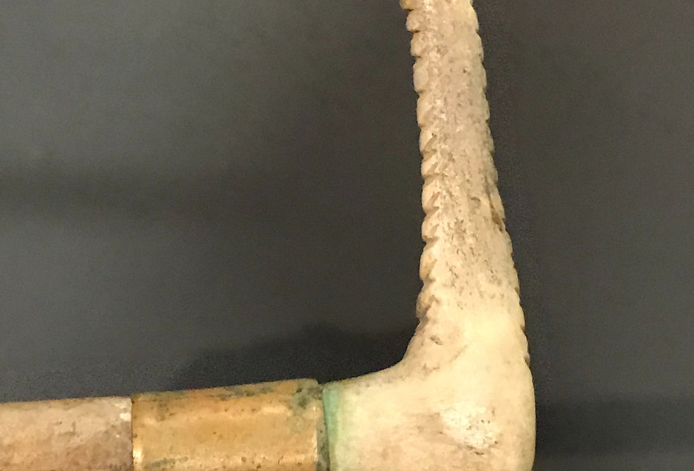 Antique English Antler Horn Swagger Stick