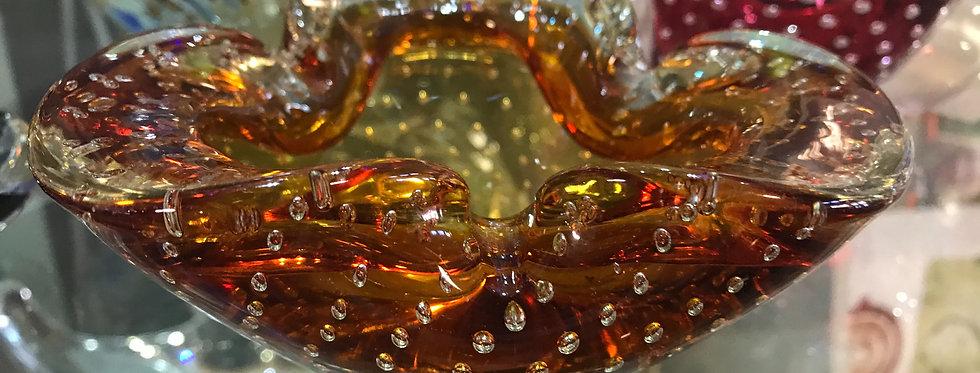 Murano Controlled Bubble Glass -Italian