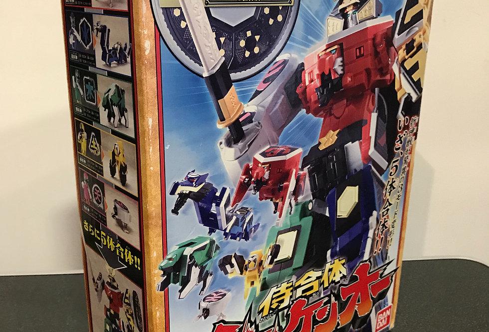 Vintage Samurai Sentai Shinkenger DX Shinken-Oh Megazord