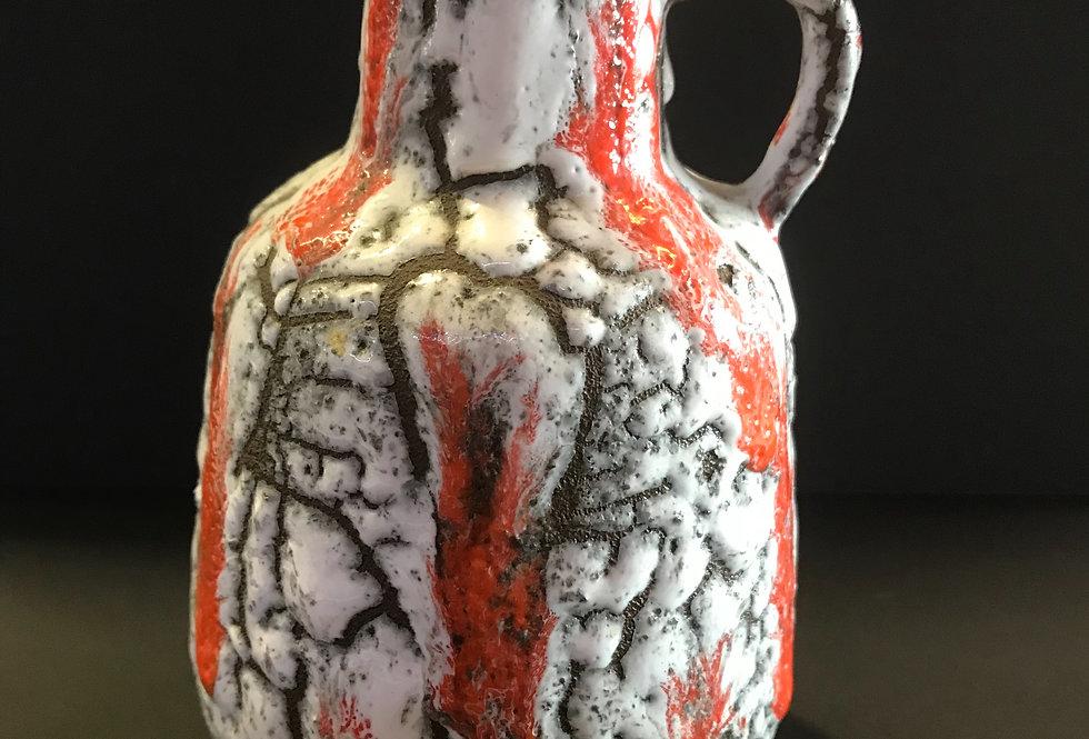 Vintage  West German Lava Vase