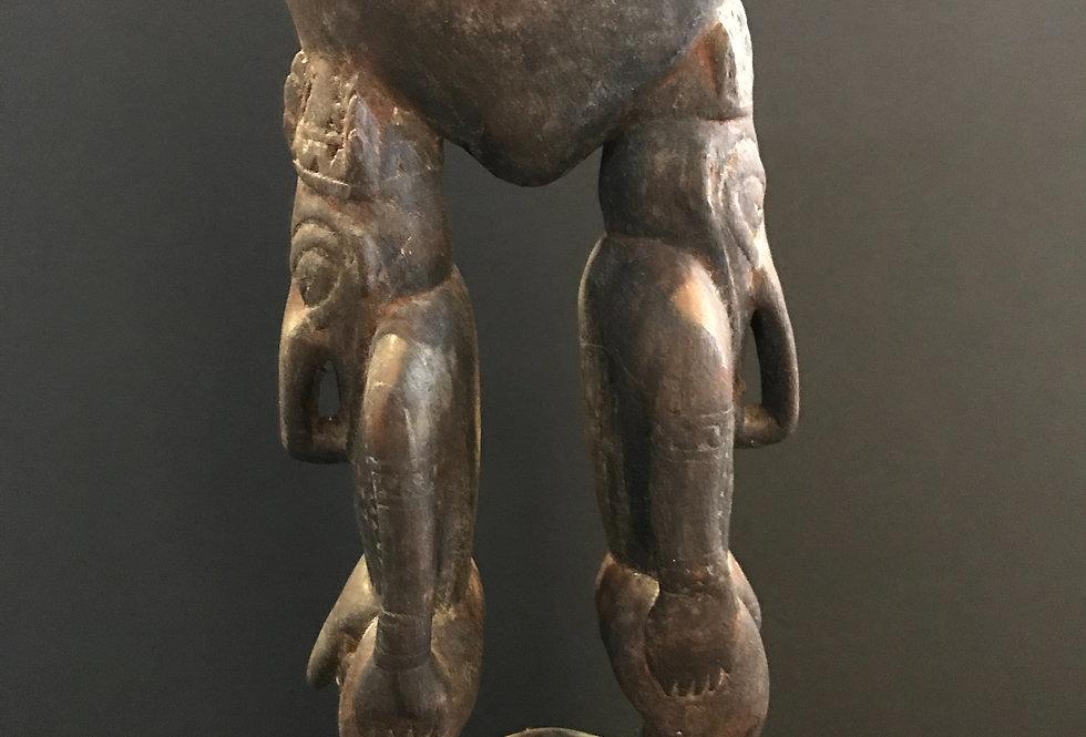 Vintage PNG Sepik River Ancestral Carving