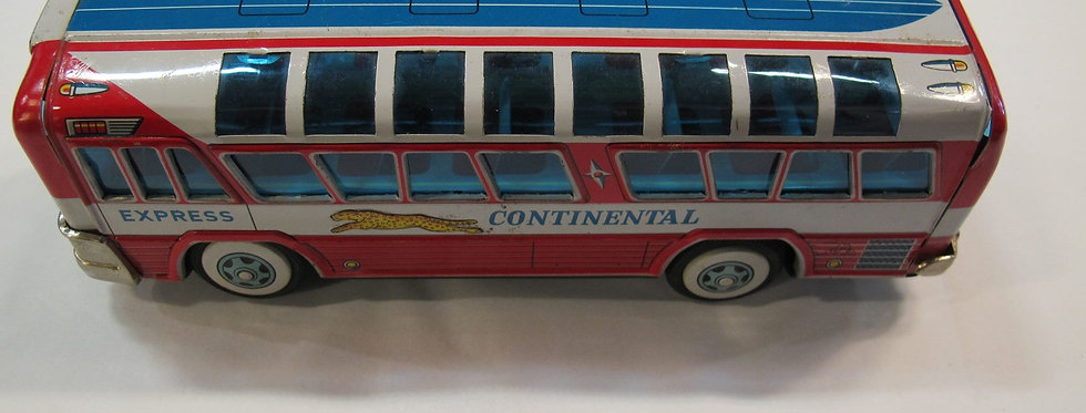 Vintage Battery Operated Continental Express Tin Toy