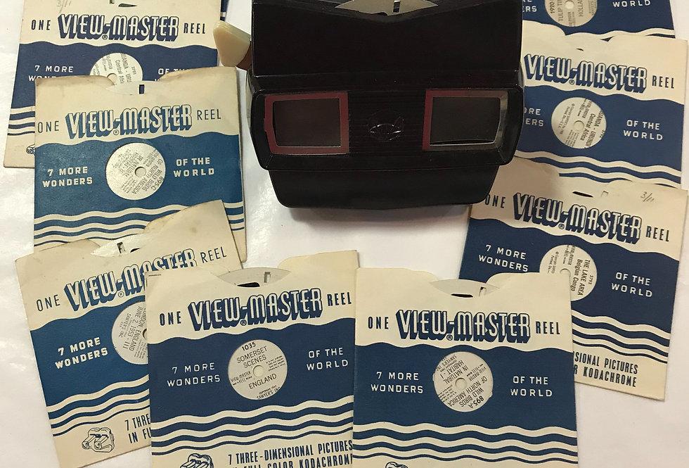 Bakelite Viewmaster with Reels