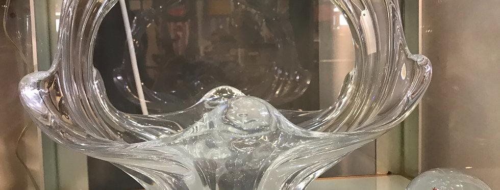 Vannes de Chatel Crystal Vase