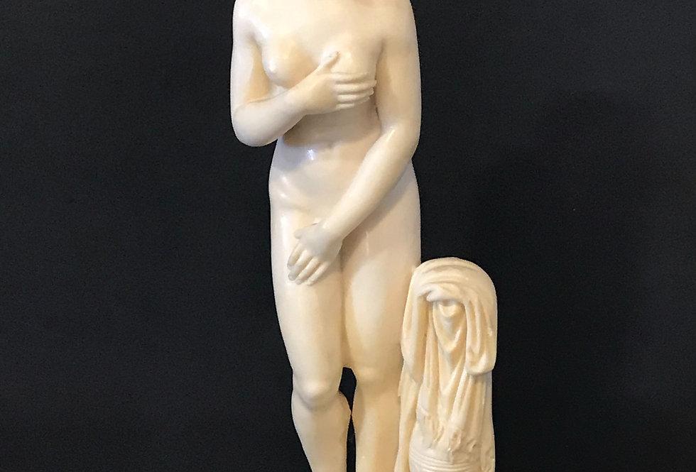 Vintage Nude Lady Sculpture