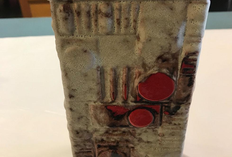 Vintage 1960's German  Lava Vase