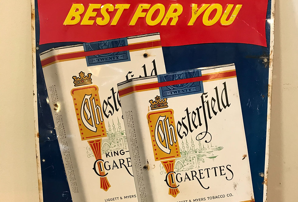 Vintage Cigarette Advertising