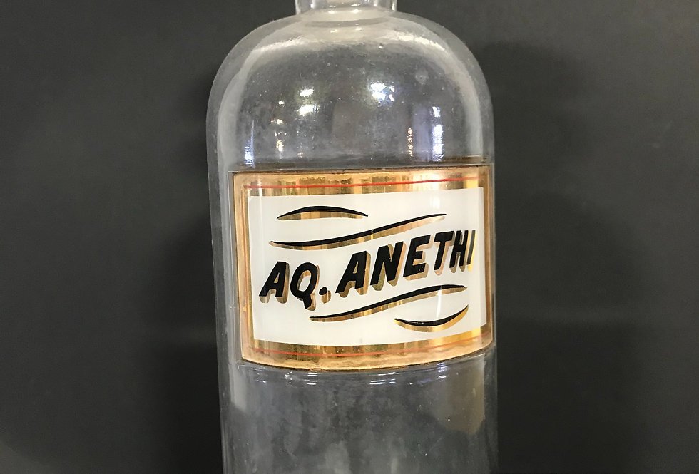 Vintage APOTHECARY Bottle