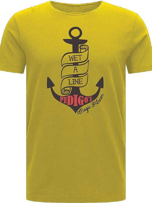 Wet a Line Shirt - Yellow