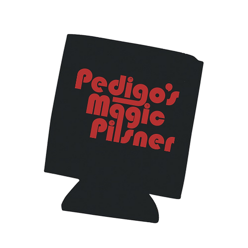 Pedigo's Magic Black Koozie