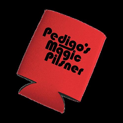 Pedigo's Magic Red Koozie
