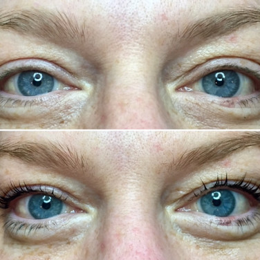 Lash Lift with Tint - Before & After