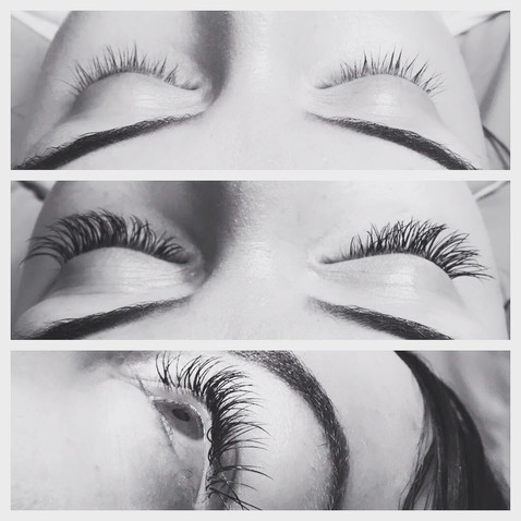 Lash Extensions Before & After