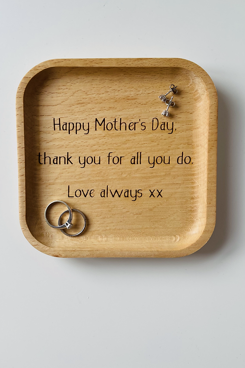 Mother's Day Trinket Tray