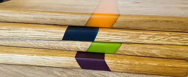 Oak Resin Serving Boards