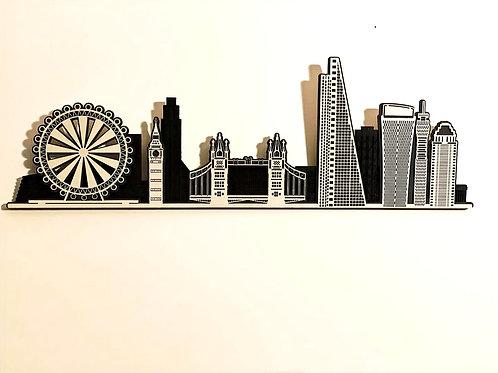 Layered LONDON Skyline
