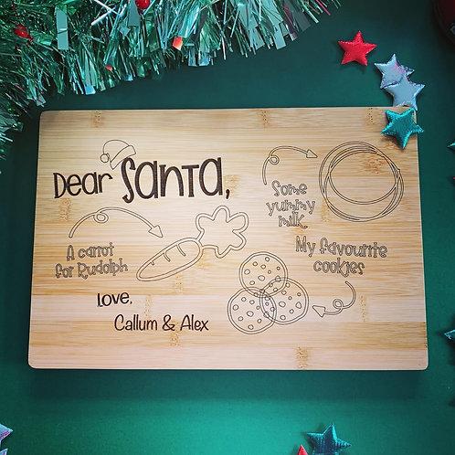 Christmas Eve Santa Board