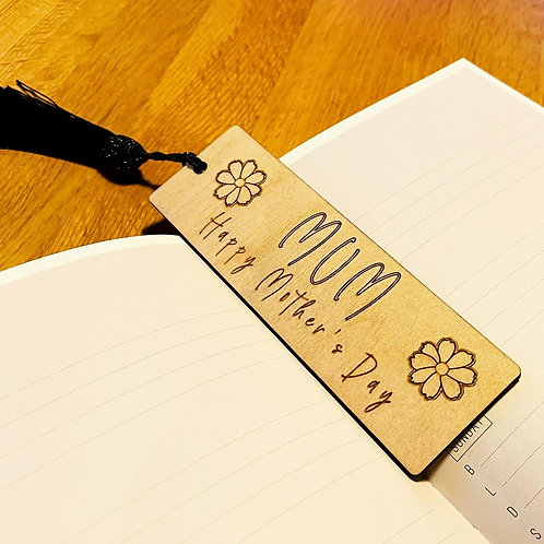Wooden Personalised Bookmarks