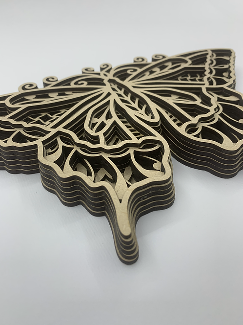 Layered Ornaments - Butterfly