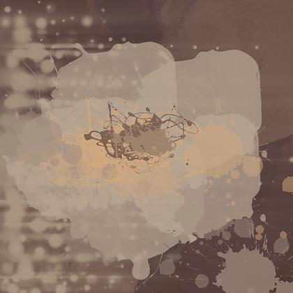 Elegant Cream, Hand Embellished Canvas Giclee