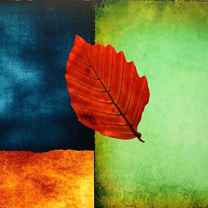Color Block.III,  Hand Embellished Giclee