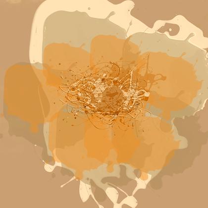 Golden sunny , Hand Embellished Canvas Giclee