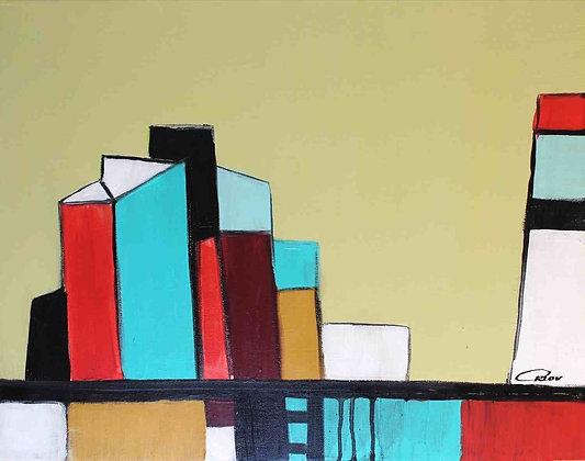 "16 x 20"" Megapolis by Irena Orlov"