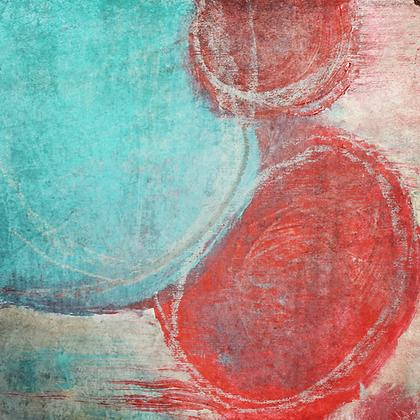 Energy, Embellished Canvas Giclee