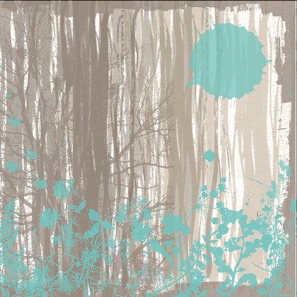Twilight time II, Hand Embellished Giclee