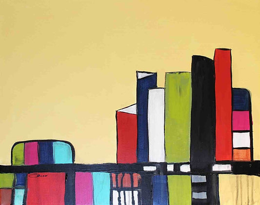 "16 x 20""  Inner city by Irena Orlov"